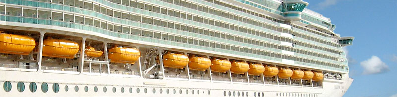 Freedom of the Seas, Façade decoration, Jukowa Oy, 2006
