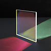 Variotrans color effect glass dichroic green filter lighting
